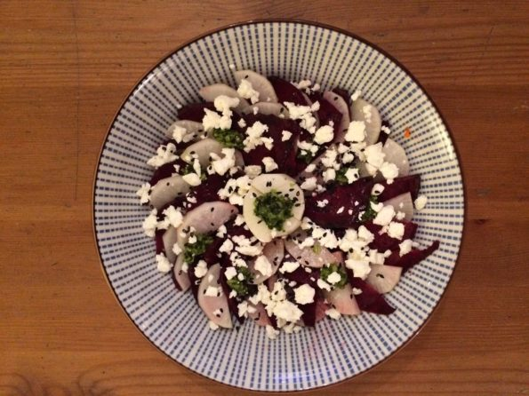 carpaccio betterave radis feta 1
