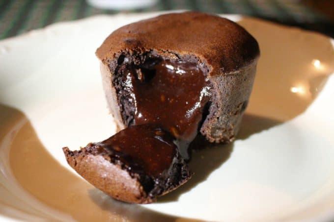 gâteau coulant chocolat