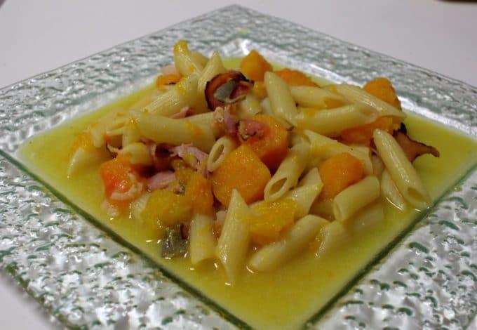 one ppot pasta jambon potiron
