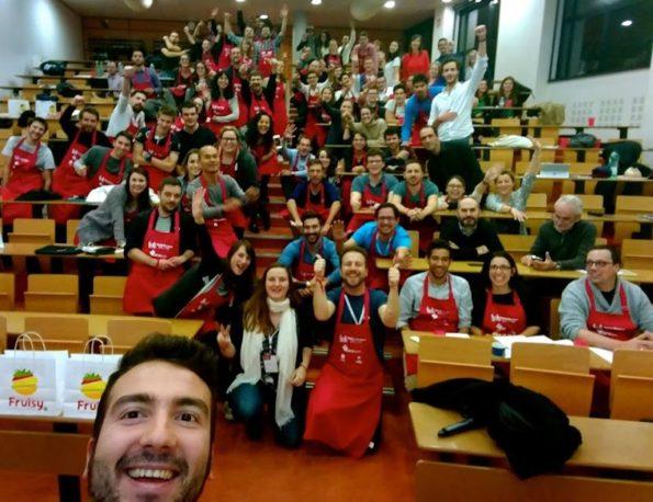 selfie-startup-weekend-food