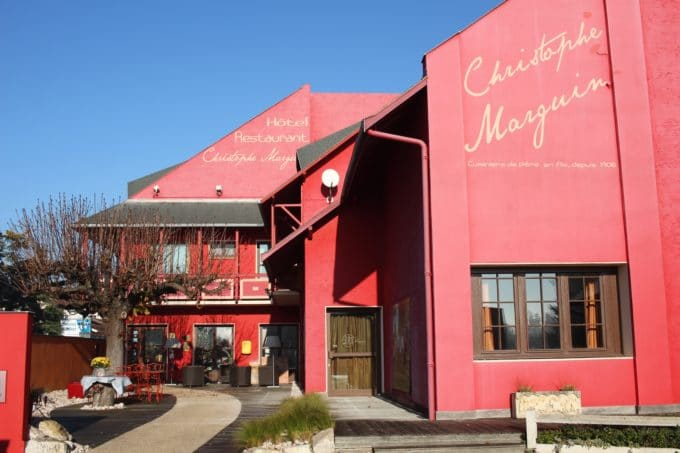 restaurant christophe marguin