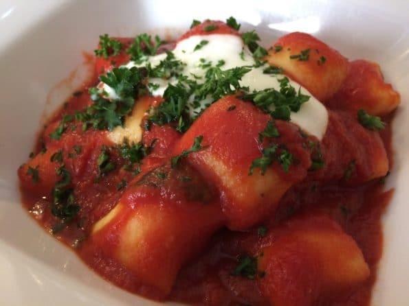 Gnocchi tomate basilic