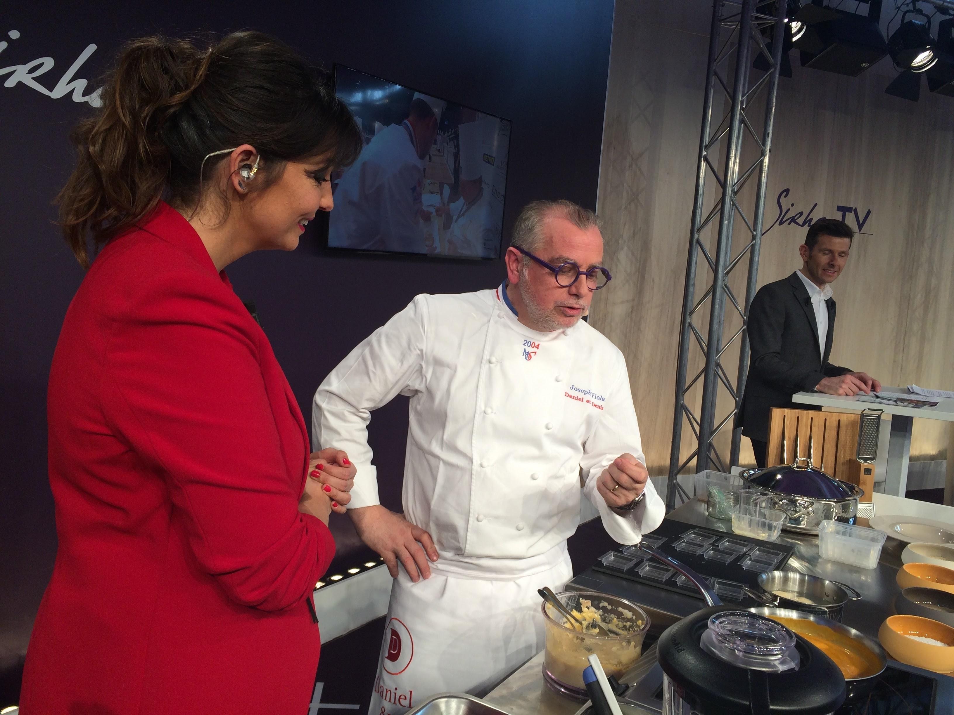 Visite du sirha le 21 janvier 2017 - Recette cuisine telematin carinne teyssandier ...