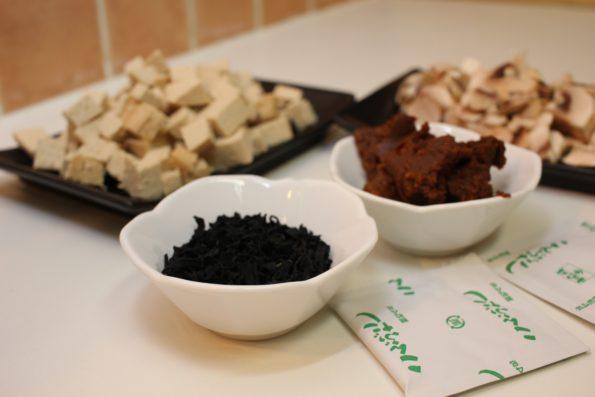 ingrédients soupe miso