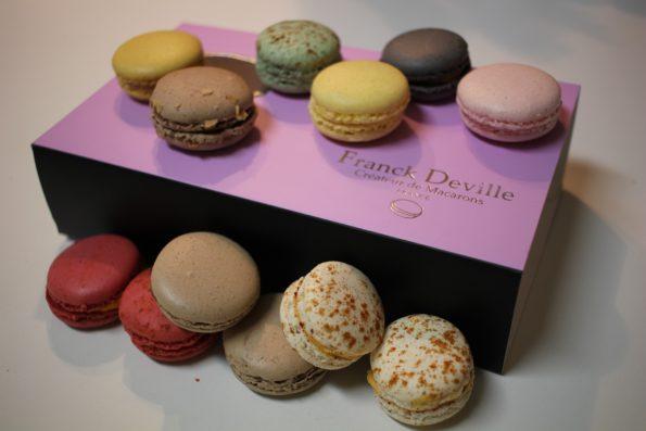 macarons Franck Deville