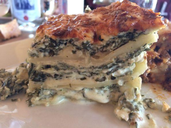 lasagne brocciu