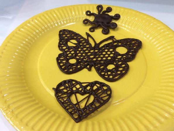 dentelle chocolat 3D