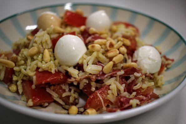 salade de riz au pistou
