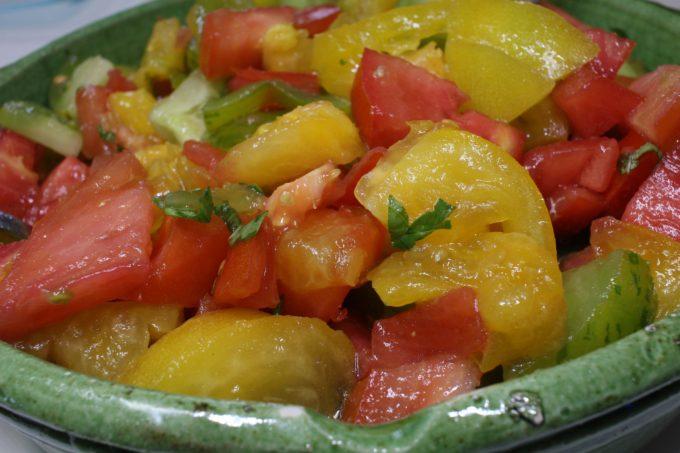 salade tomates 3 couleurs