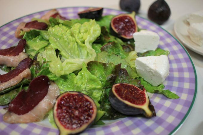 salade figue magret