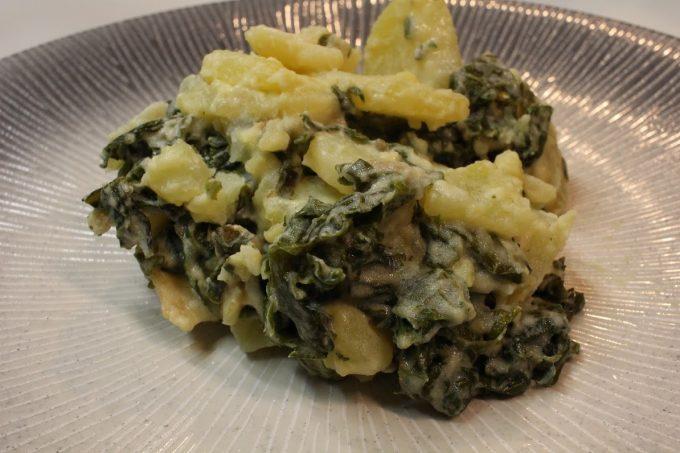 chou kale pommes de terre