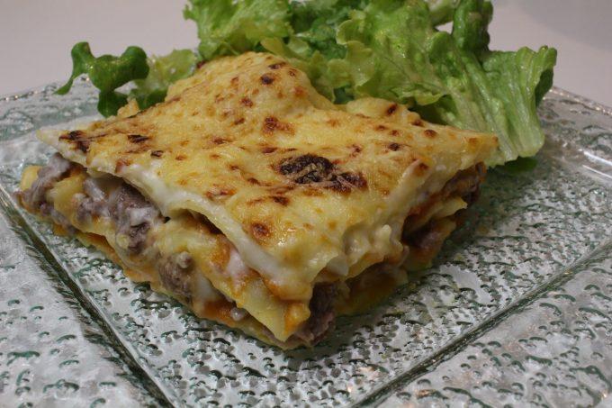 lasagne potiron