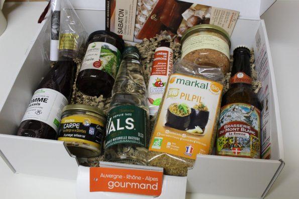 box Auvergne Rhone Alpes Gourmand