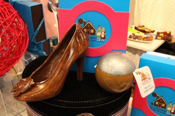 chaussure chocolat abi et lisa