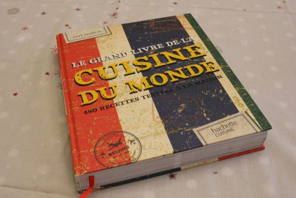 grand livre cuisine du monde