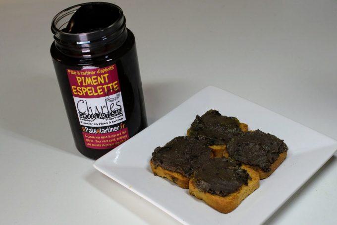 toast foie gras, chocolat
