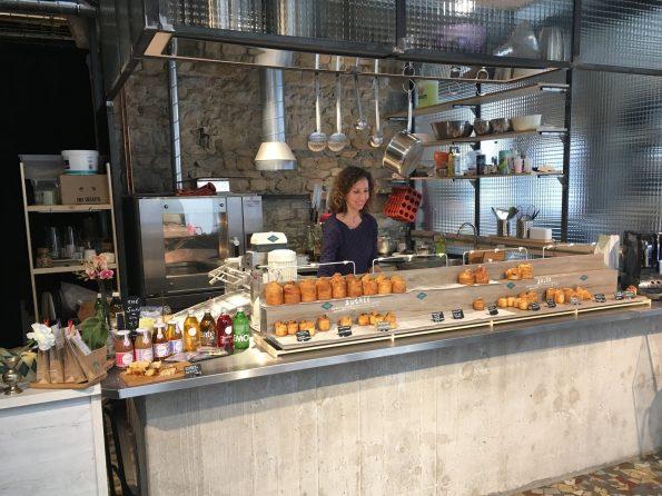 comptoir suzanne bar à brioches