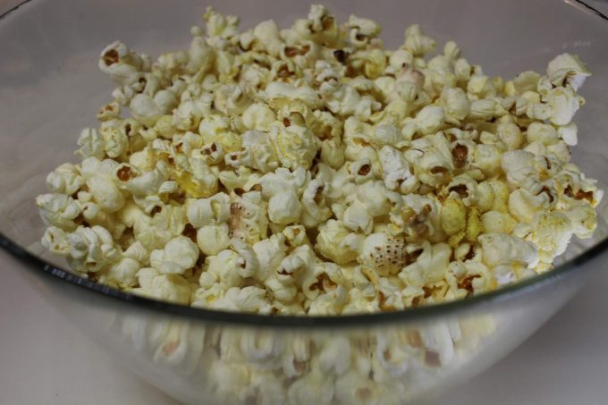 pop corn au curry