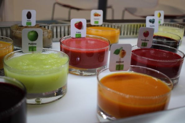purées de fruits sicoly SIRHA Green