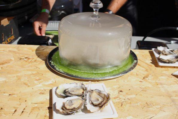 huîtres fumées