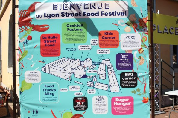 plan Lyon street food festival