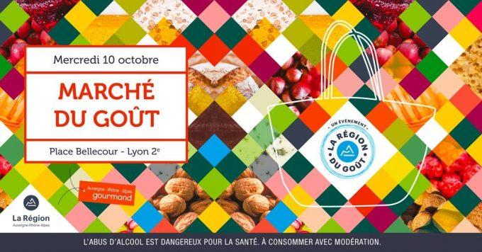 marché du goût 2018 Lyon