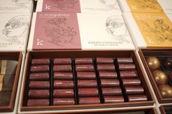 Karen chocolat salon du chocolat Lyon 2018