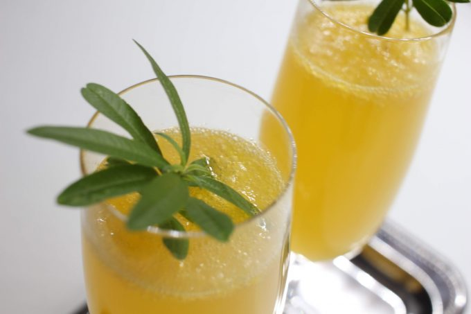 cocktail prosecco agrumes