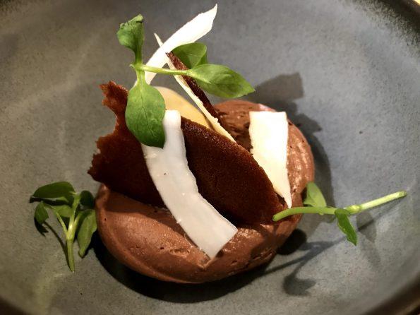 dessert chocolat restaurant Culina Hortus