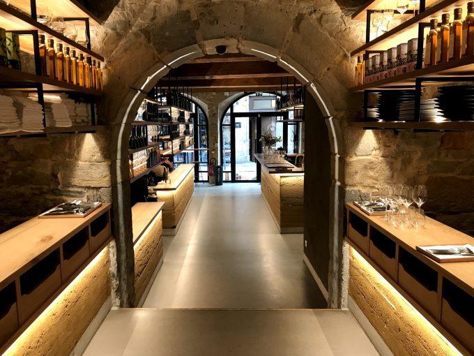 intérieur restaurant Culina Hortus
