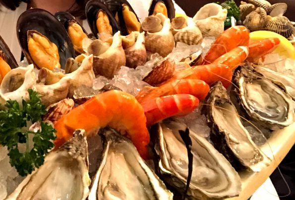 plateau fruits de mer chez Moss