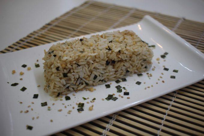 salade de riz au furikake