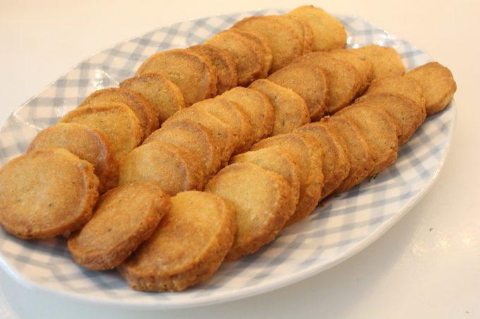 biscuits au parmesan et romarin