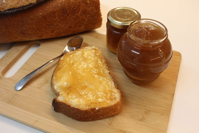 confiture pomme rhubarbe