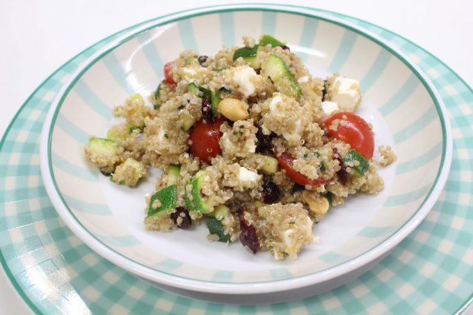 salade quinoa courgettes
