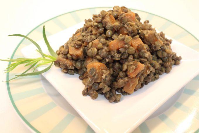 salade de lentilles et carottes