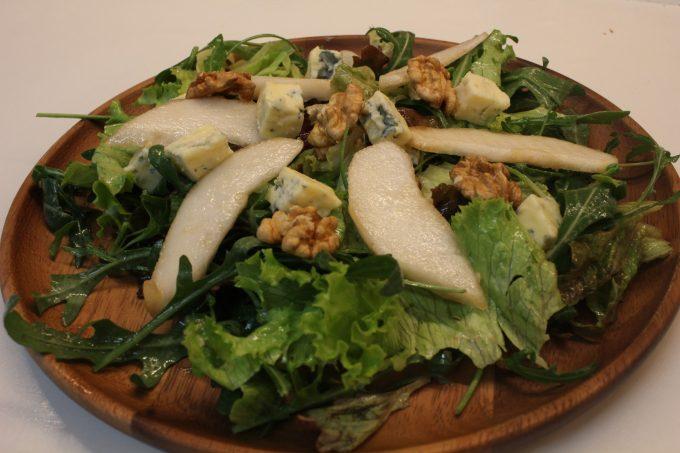 salade au bleu de Sassenage