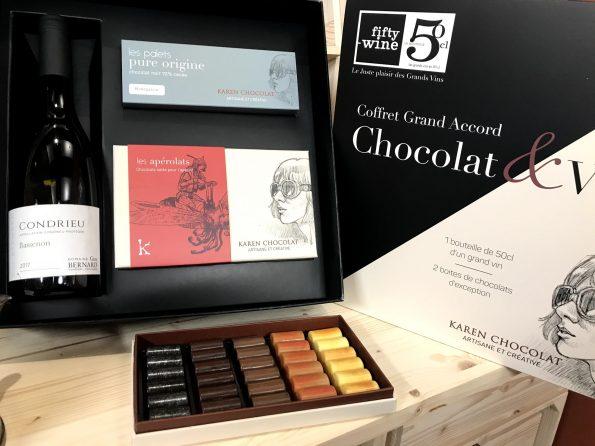 apérolas Karen chocolat