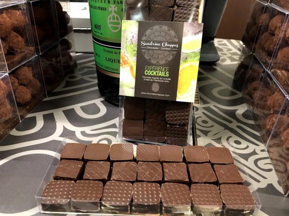 sandrine chappaz salon du chocolat