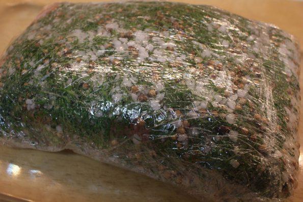 saumon gravlax étape 3
