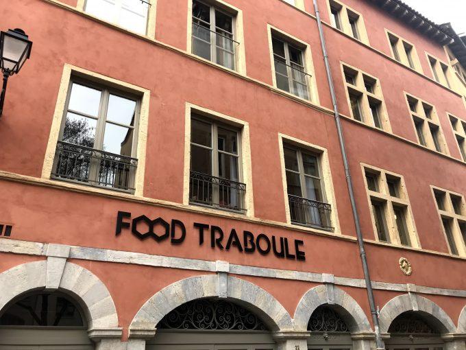 Food Traboule façade