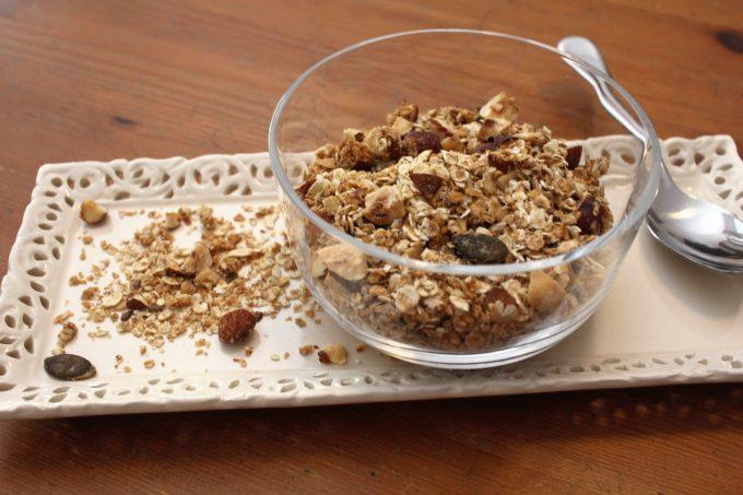 granola sucré