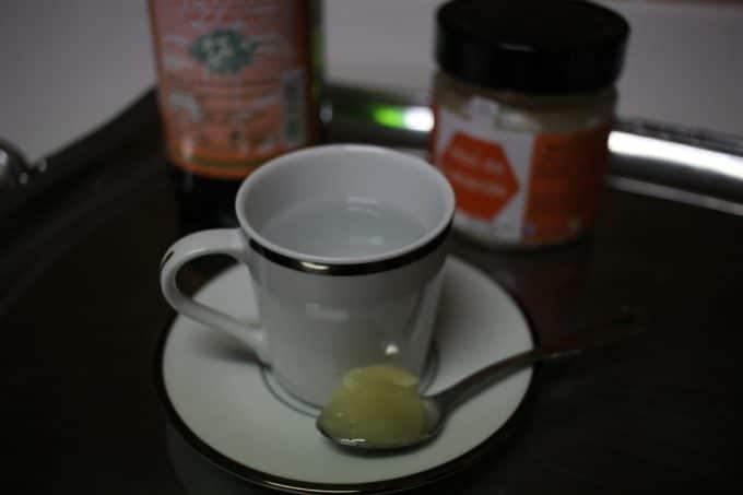 café blanc