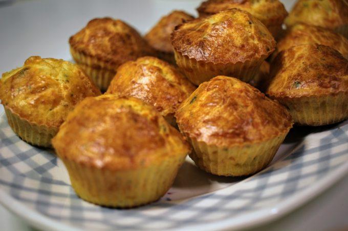 Muffin coriandre