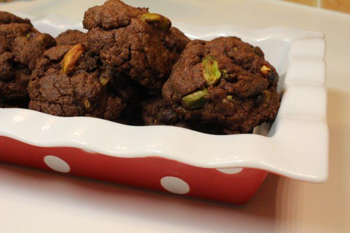cookie chocolat pistache