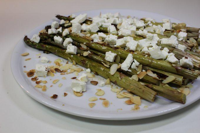 asperges cuites au four