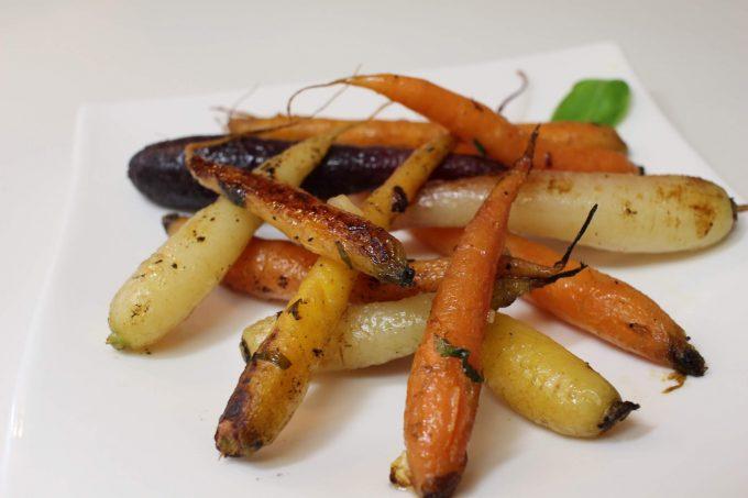 carottes au citron confit