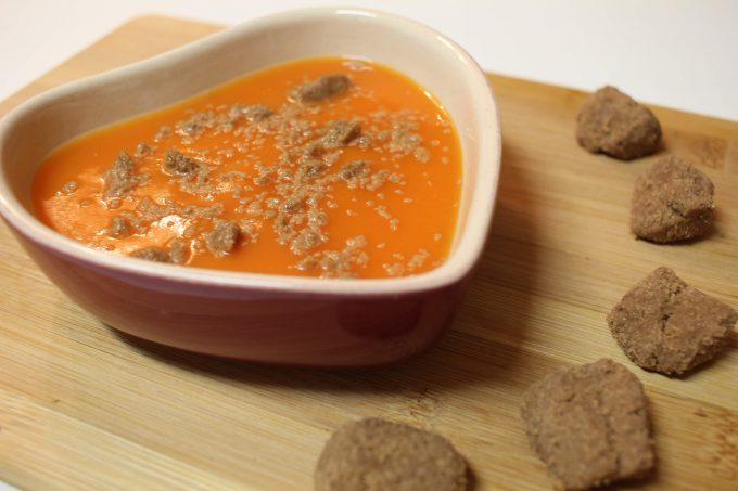 soupe de courge sucrée