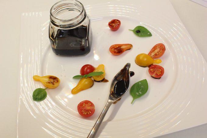 réduction de vinaigre balsamique