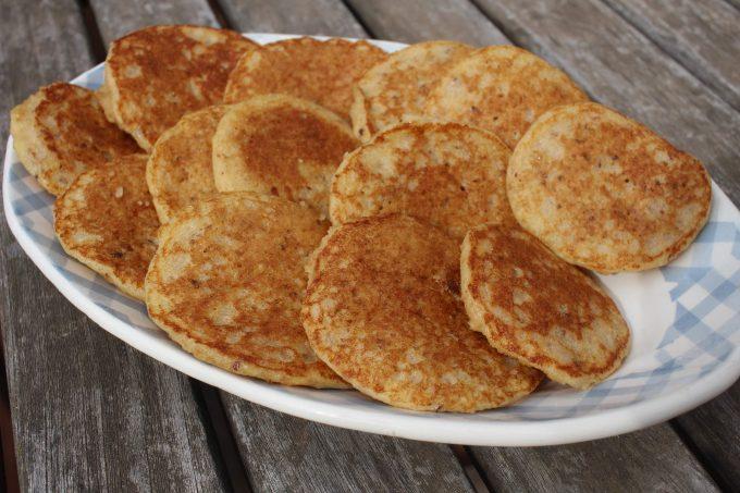 pancakes au pain sec